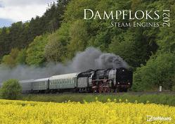 Dampfloks 2021 – Foto-Kalneder – Wand-Kalender – 42×29,7