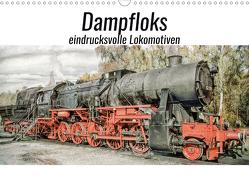 Dampfloks – eindrucksvolle Lokomotiven (Wandkalender 2021 DIN A3 quer) von Brunner-Klaus,  Liselotte