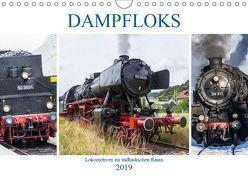 Dampfloks im südbadischen Raum (Wandkalender 2019 DIN A4 quer) von Brunner-Klaus,  Liselotte