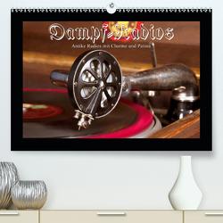 Dampfradios – Antike Radios mit Charme und Patina (Premium, hochwertiger DIN A2 Wandkalender 2021, Kunstdruck in Hochglanz) von Haselnusstafel