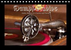 Dampfradios – Antike Radios mit Charme und Patina (Tischkalender 2018 DIN A5 quer) von Haselnusstafel,  k.A.