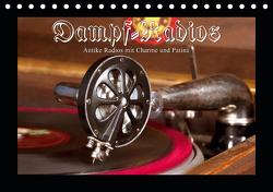 Dampfradios – Antike Radios mit Charme und Patina (Tischkalender 2021 DIN A5 quer) von Haselnusstafel