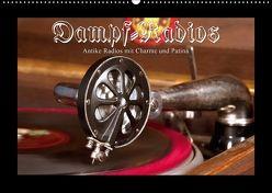 Dampfradios – Antike Radios mit Charme und Patina (Wandkalender 2018 DIN A2 quer) von Haselnusstafel,  k.A.