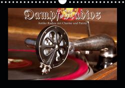 Dampfradios – Antike Radios mit Charme und Patina (Wandkalender 2021 DIN A4 quer) von Haselnusstafel