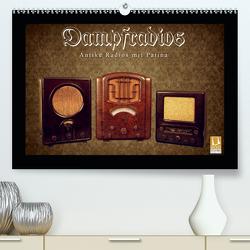 Dampfradios – Antike Radios mit Patina (Premium, hochwertiger DIN A2 Wandkalender 2020, Kunstdruck in Hochglanz) von Haselnusstafel