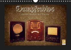 Dampfradios – Antike Radios mit Patina (Wandkalender 2019 DIN A4 quer) von Haselnusstafel