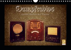 Dampfradios – Antike Radios mit Patina (Wandkalender 2021 DIN A4 quer) von Haselnusstafel