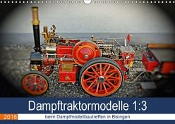 Dampftraktormodelle 1:3 beim Dampfmodellbautreffen in Bisingen (Wandkalender 2018 DIN A3 quer) von Günther,  Geiger