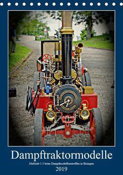 Dampftraktormodelle Maßstab 1:3 beim Dampfmodellbautreffen in Bisingen (Tischkalender 2019 DIN A5 hoch) von Günther,  Geiger