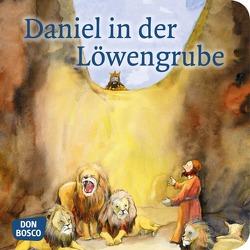 Daniel in der Löwengrube. Mini-Bilderbuch von Lefin,  Petra, Nommensen,  Klaus-Uwe