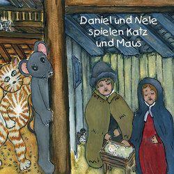 Daniel und Nele spielen Katz und Maus