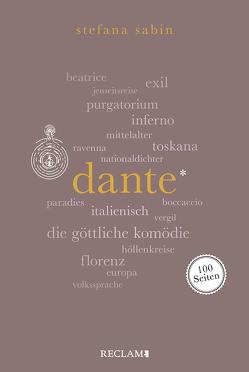 Dante. 100 Seiten von Sabin,  Stefana