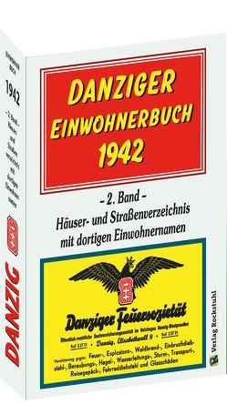 DANZIG – Danziger Einwohnerbuch 1942 – 2. Band