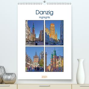 Danzig Highligts (Premium, hochwertiger DIN A2 Wandkalender 2021, Kunstdruck in Hochglanz) von Michalzik,  Paul
