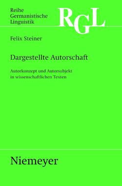 Dargestellte Autorschaft von Steiner,  Felix