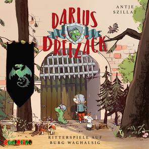 Darius Dreizack (1) von Hopf,  Erkki, Szillat,  Antje