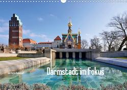 Darmstadt im Fokus (Wandkalender 2021 DIN A3 quer) von Bodentaff,  Petrus