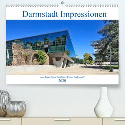 Darmstadt Impressionen vom Frankfurter Taxifahrer Petrus Bodenstaff (Premium, hochwertiger DIN A2 Wandkalender 2020, Kunstdruck in Hochglanz) von Bodenstaff,  Petrus