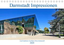 Darmstadt Impressionen vom Frankfurter Taxifahrer Petrus Bodenstaff (Tischkalender 2020 DIN A5 quer) von Bodenstaff,  Petrus