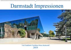 Darmstadt Impressionen vom Frankfurter Taxifahrer Petrus Bodenstaff (Wandkalender 2019 DIN A2 quer) von Bodenstaff,  Petrus