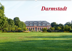 Darmstadt (Wandkalender 2020 DIN A2 quer) von Rank,  Claus-Uwe