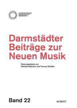 Darmstädter Beiträge zur neuen Musik von Rebhahn,  Michael, Schaefer,  Thomas, Stoll,  Rolf W.