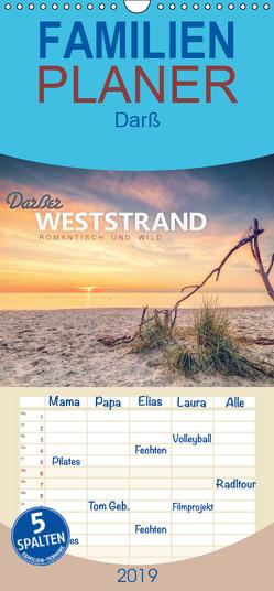 Darßer Weststrand – Familienplaner hoch (Wandkalender 2019 , 21 cm x 45 cm, hoch) von Wiemer,  Dirk