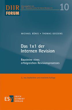 Das 1×1 der Internen Revision von Bünis,  Michael, Gossens,  Thomas
