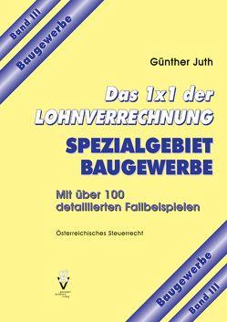 Das 1×1 der Lohnverrechnung von Juth,  Günther