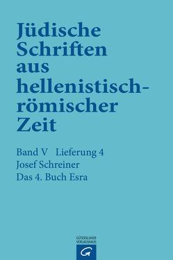 Das 4. Buch Esra von Schreiner,  Josef