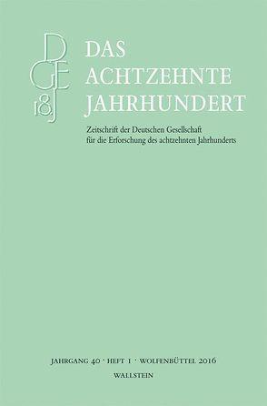 Das achtzehnte Jahrhundert von Zelle,  Carsten