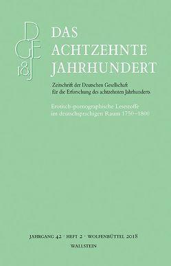 Das achtzehnte Jahrhundert 42/2 von Zelle,  Carsten