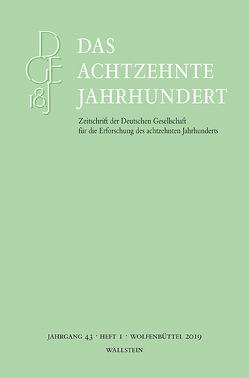 Das achtzehnte Jahrhundert 43/1 von Zelle,  Carsten