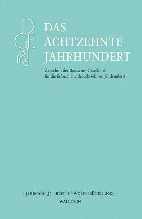 Das achtzehnte Jahrhundert. Zeitschrift der Deutschen Gesellschaft… von Zelle,  Carsten