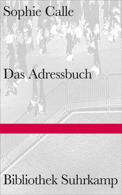Das Adressbuch von Calle,  Sophie, Erbrich,  Sabine