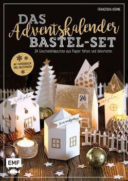 Das Adventskalender Bastel-Set – Mit Papierbogen und Anleitungen von Kühne,  Franziska