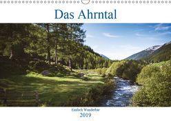 Das Ahrntal (Wandkalender 2019 DIN A3 quer) von Deutschmann,  Hans
