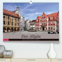 Das Allgäu – Seine malerischen Altstädte (Premium, hochwertiger DIN A2 Wandkalender 2020, Kunstdruck in Hochglanz) von Becker,  Thomas