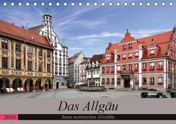 Das Allgäu – Seine malerischen Altstädte (Tischkalender 2019 DIN A5 quer) von Becker,  Thomas
