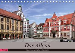 Das Allgäu – Seine malerischen Altstädte (Tischkalender 2020 DIN A5 quer) von Becker,  Thomas