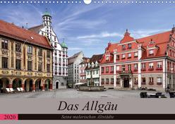 Das Allgäu – Seine malerischen Altstädte (Wandkalender 2020 DIN A3 quer) von Becker,  Thomas