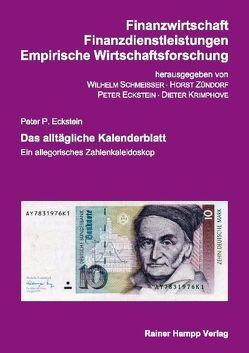 Das alltägliche Kalenderblatt von Eckstein,  Peter P.