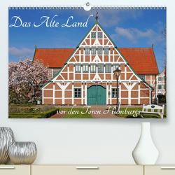 Das Alte Land vor den Toren Hamburgs (Premium, hochwertiger DIN A2 Wandkalender 2021, Kunstdruck in Hochglanz) von Fornal,  Martina