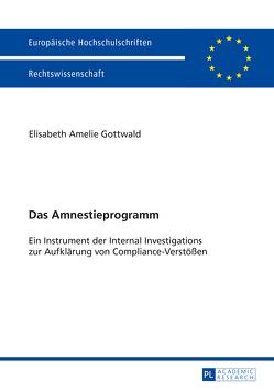 Das Amnestieprogramm von Gottwald,  Elisabeth