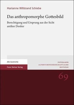 Das anthropomorphe Gottesbild von Wifstrand Schiebe,  Marianne