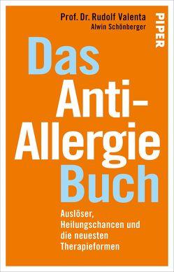 Das Anti-Allergie-Buch von Schönberger,  Alwin, Valenta,  Rudolf