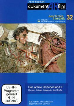 Das antike Griechenland II von Anne Roerkohl,  dokumentARfilm GmbH