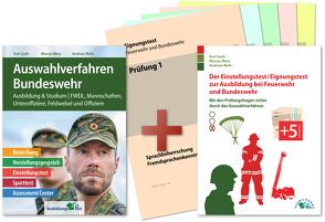 Auswahlverfahren und Einstellungstest Bundeswehr – alles in einem Paket von Guth,  Kurt, Mery,  Marcus, Mohr,  Andreas