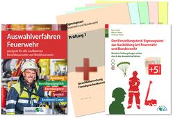 Auswahlverfahren und Einstellungstest Feuerwehr – alles in einem Paket von Guth,  Kurt, Mery,  Marcus, Mohr,  Andreas