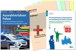 Auswahlverfahren und Einstellungstest Polizei – alles in einem Paket von Guth,  Kurt, Mery,  Marcus, Mohr,  Andreas